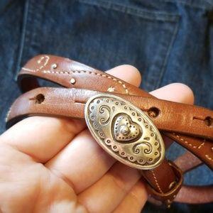 {Cabela's} Skinny Leather Belt